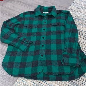 Madewell Flannel Shirt Size Small